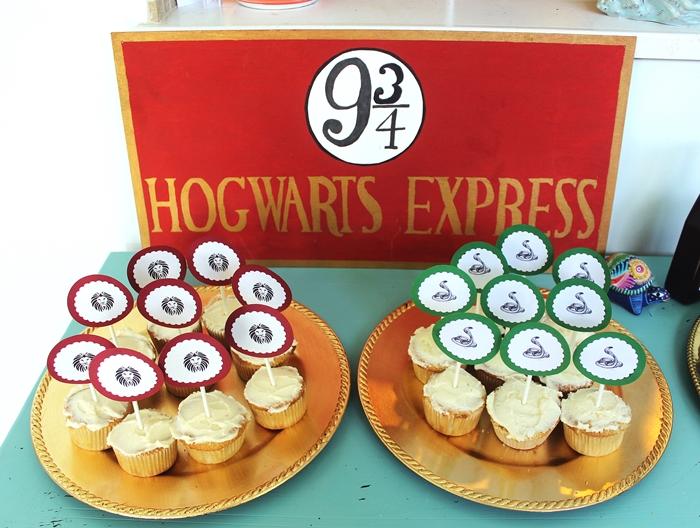 Milos Harry Potter Party Part 1 Food Decor