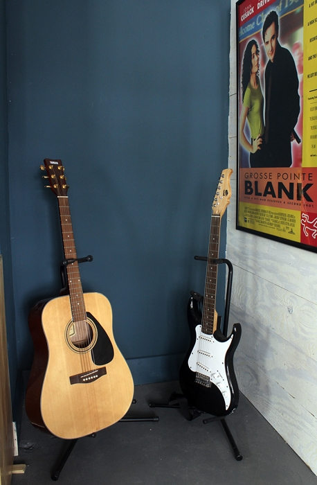 guitars in nook