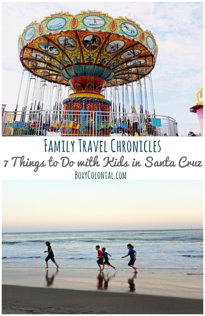 Family trip to Santa Cruz, CA, and 7 great things to do there with kids