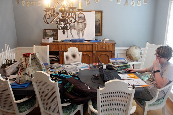 Organize The Dining Room