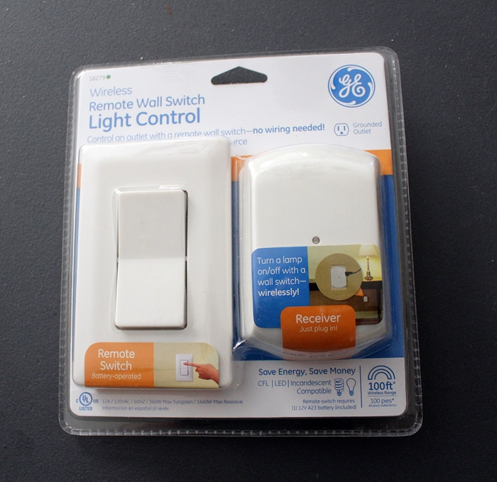 wall switch remote light control