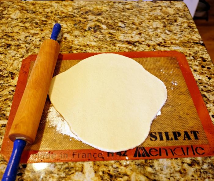 roll out salt dough