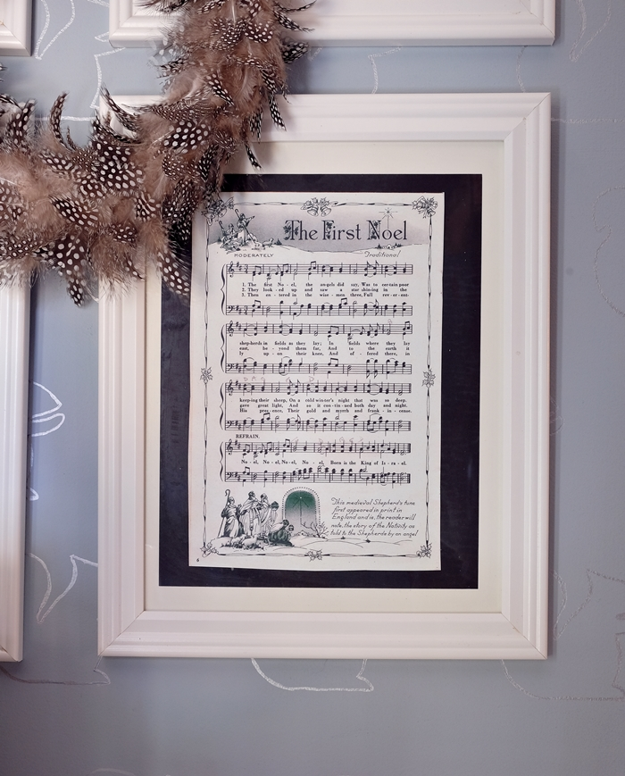 vintage Christmas carol sheet music printables