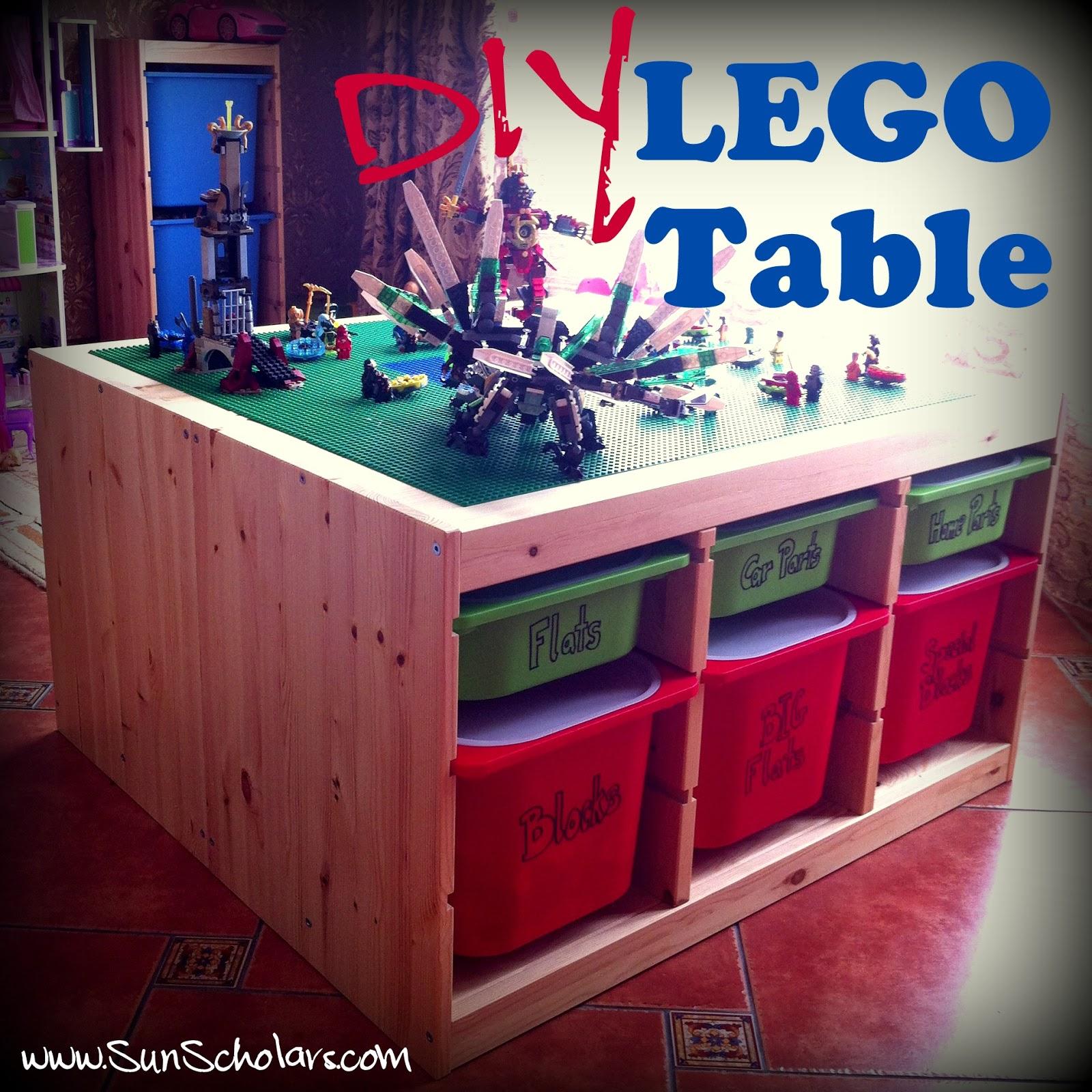 Diy Ikea Lego Table Aka The Super Secret Project The Day