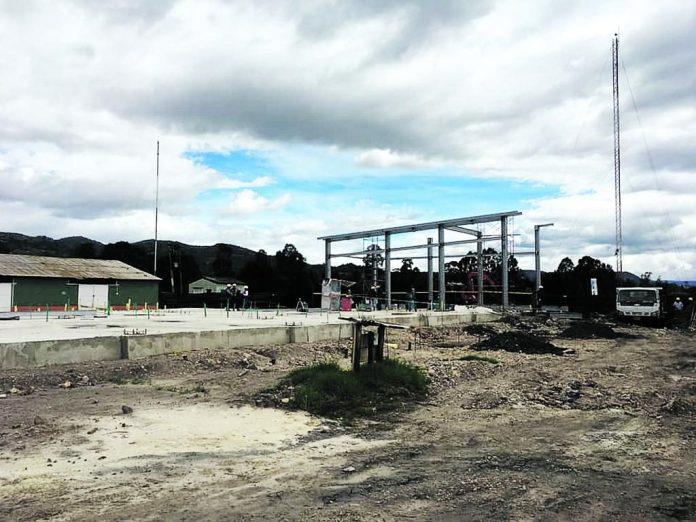 Obras en terminal aérea de Sogamoso apenas van despegando 1