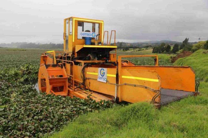 Con la labor de esta cosechadora se contribuye a la disminución de moscos, zancudos y roedores.
