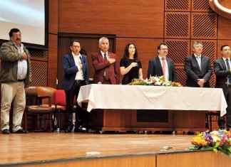 Con una celebración eucarística en la Cámara de Comercio de Duitama los funcionarios de la empresa celebraron mas de 40 años de existencia