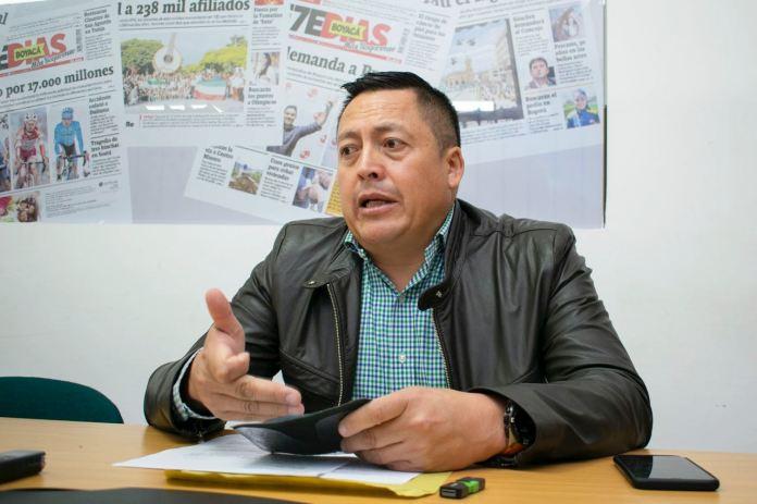El alcalde de Aquitania asegura que él no incitó a las agresiones de parte de la comunidad contra funcionarios de Corpoboyacá.