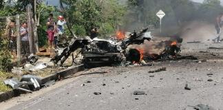 La explosión del carro bomba en Cubará dejó como saldo tres militares heridos sin gravedad y daños materiales en Asou'wa.