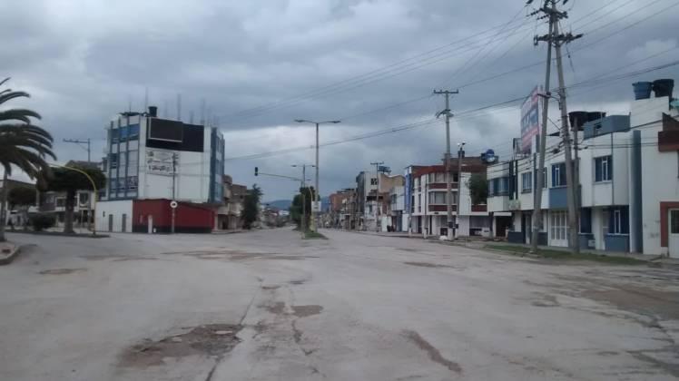 [Galería] Las calles de Boyacá permanecen solas en el primer día de Simulacro de Aislamiento por COVID - 19 3