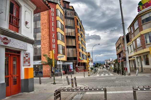[Galería] Las calles de Boyacá permanecen solas en el primer día de Simulacro de Aislamiento por COVID - 19 33