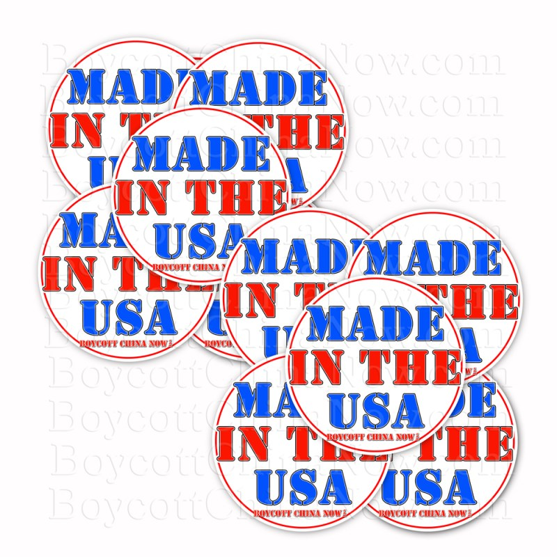Made In The USA Stickers 10