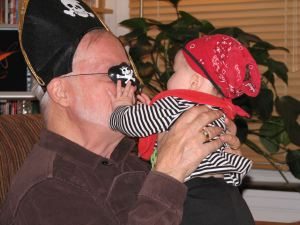 Pirate Grandpa accessory