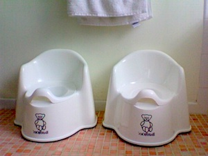 Potty-training weekend: the sequel