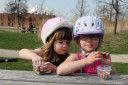 Rosie and Lucy on April 13, 2011.