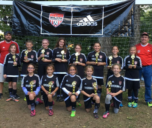 U12 Girls United Runner Up At The Wilson Fall Classic