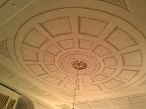 Ceiling, Universalist Meeting House, Provincetown