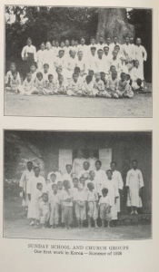 Sunday School and Church Groups Our First Work in Korea -- Summer of 1926