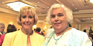 Lilly Ledbetter and Ann MacKay