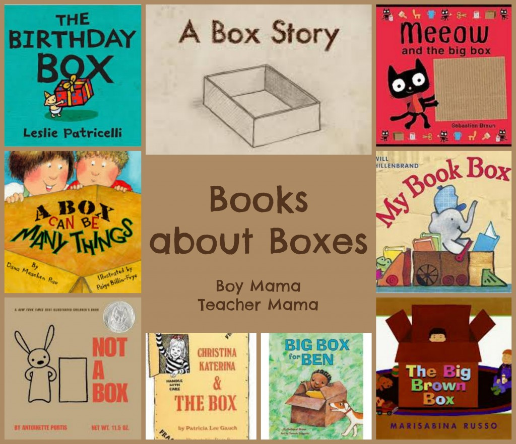Book Mama Books About Boxes