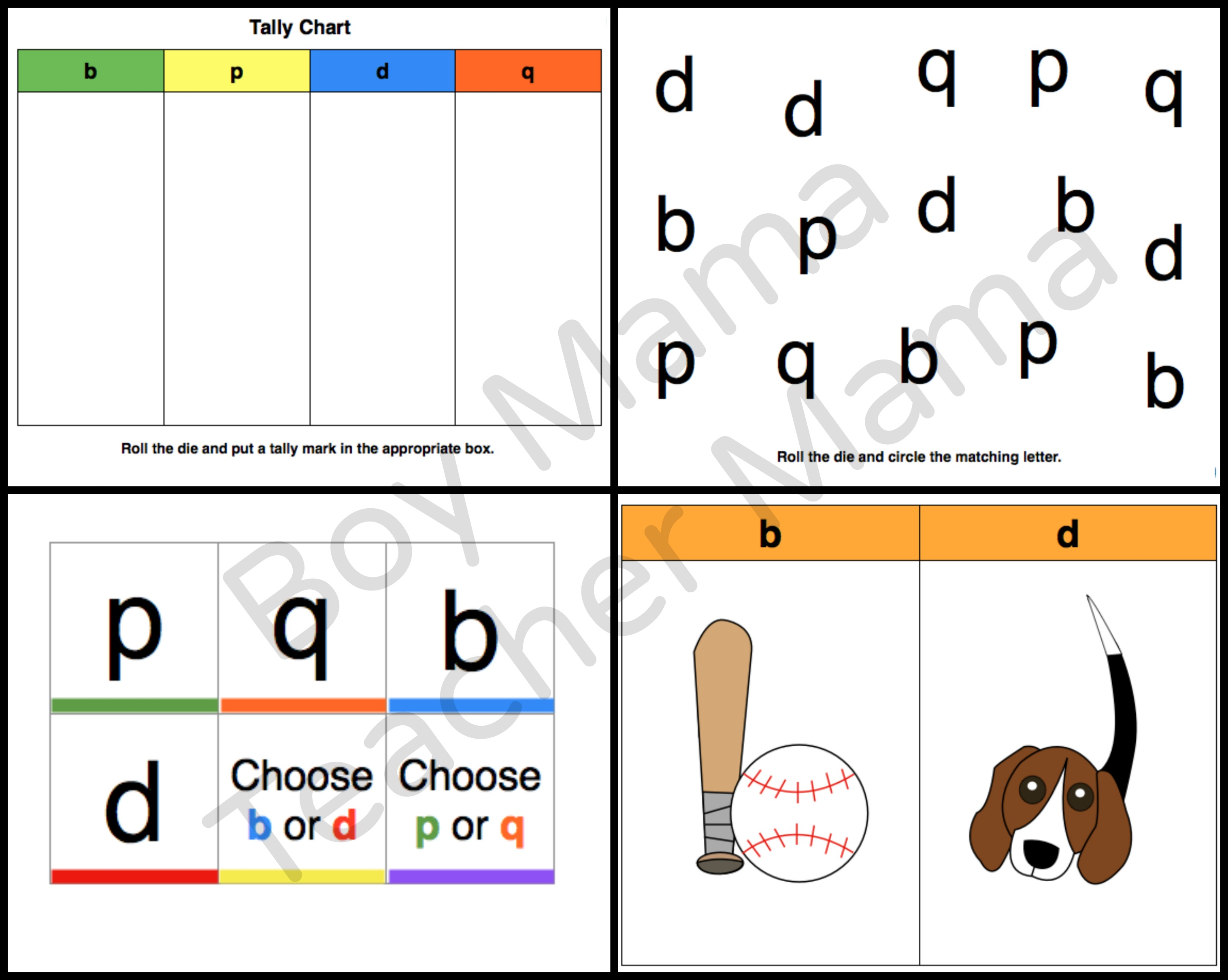 Teacher Mama Games For Letter Reversals