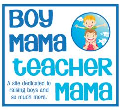 Boy Mama Teacher Mama  Logo