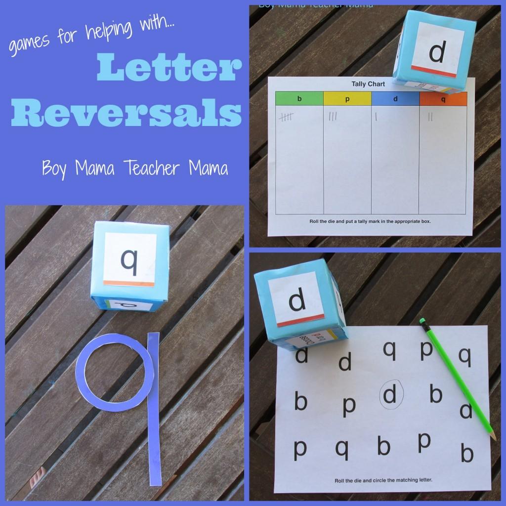 Letter Reversal Worksheet