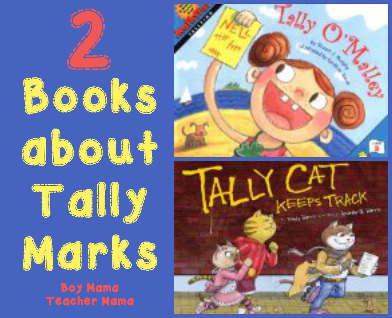 Teacher Mama 2 Books About Tally Marks