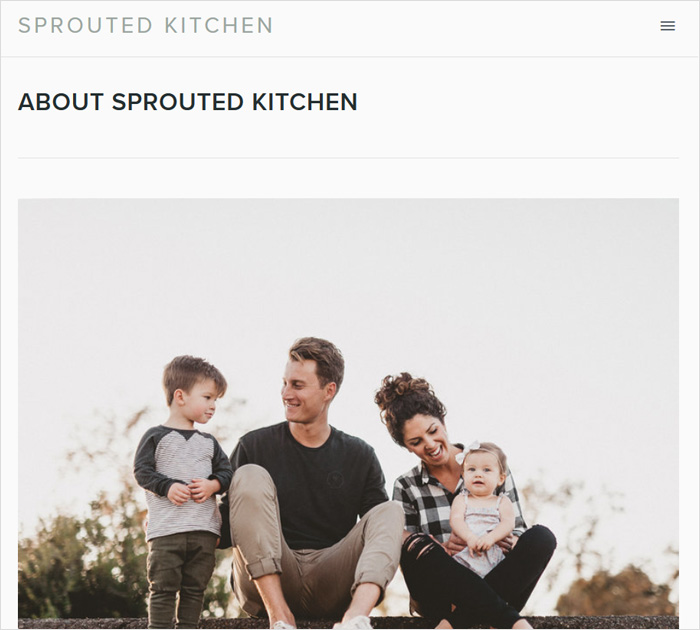 Sprouted Kitchen - Food blog