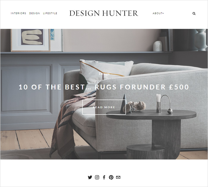 Design Hunter - best interior design blogs