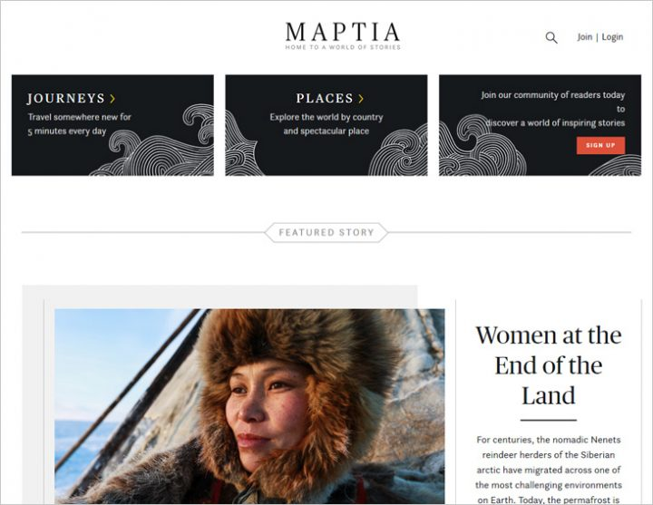 The best travel blogs for inspiration - Maptia
