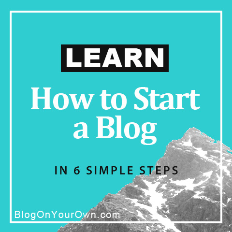 Learn how to start a WordPress blog
