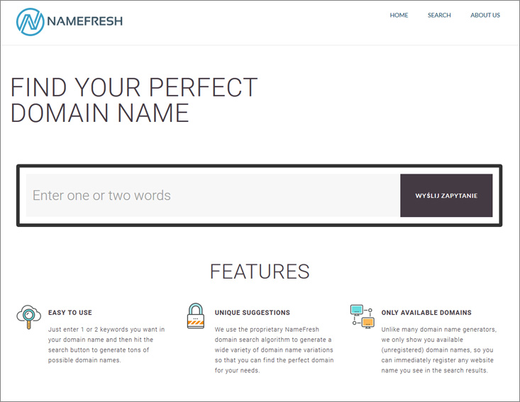Namefresh name generator