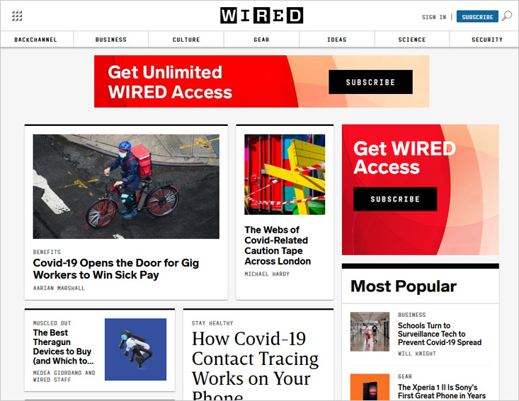 Wired.com - technology blog