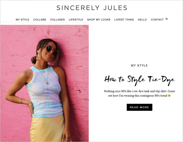 Sincerely Jules fashion blog