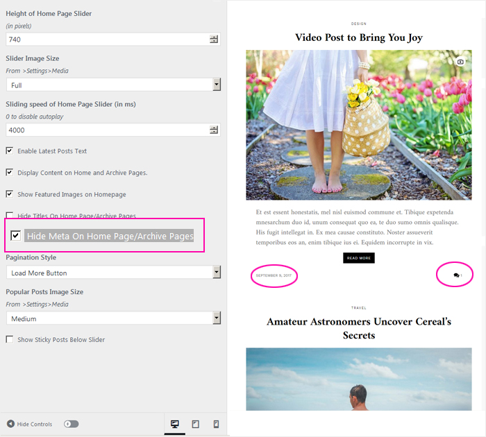 Create your first blog with Blover free theme