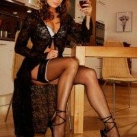 Sensational Shocking Stunners In Silky Sexy Stockings