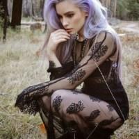 Gothic Ladies Fashion For Late Summer