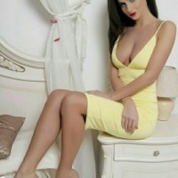 Mellow Yellow Ladies In Bikinis, High Heels And Stockings