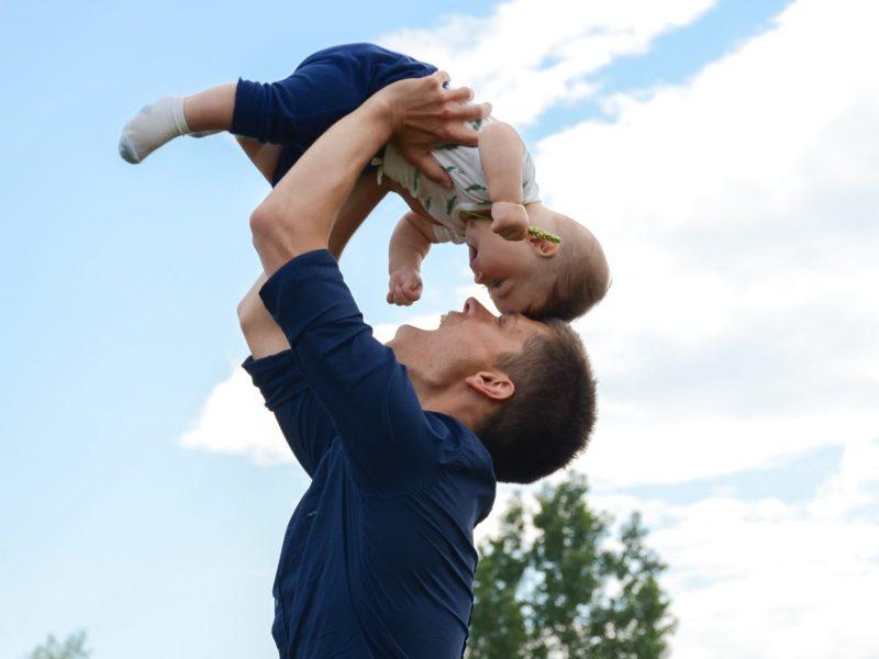 Vater und Sohn, Zeit nehmen, Jungen und Eltern
