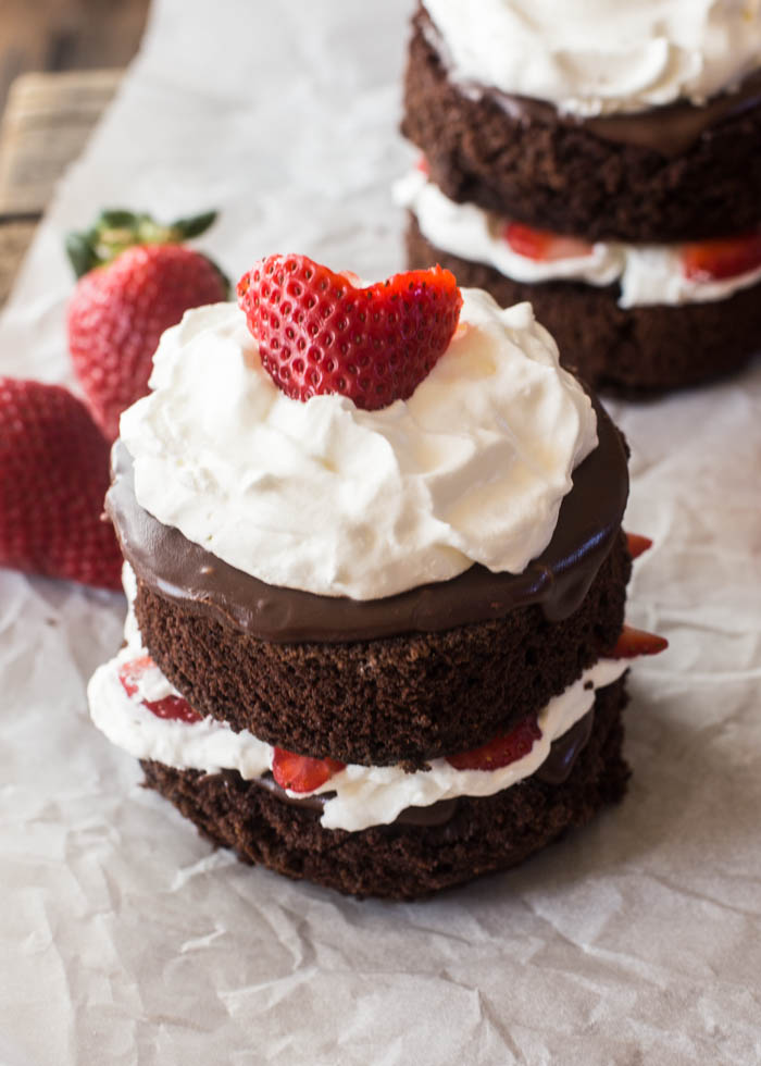 Healthy Strawberry Cake