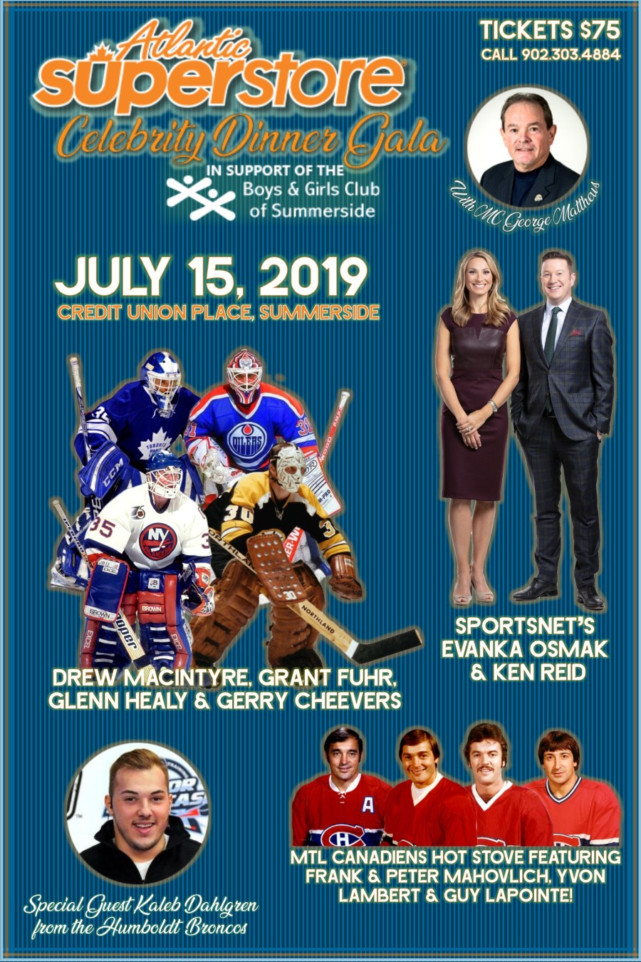 Atlantic Superstore Celebrity Dinner Gala – The Boys and