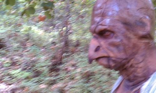 monsters in woods beakman