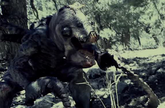 monsters in woods creature copy