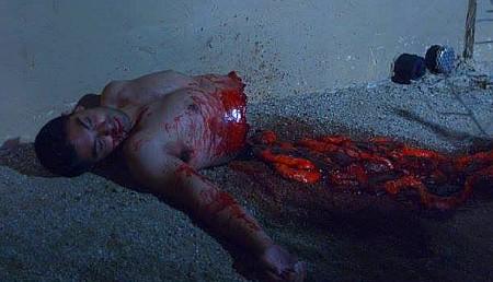 krampus unleased hot guy slashed