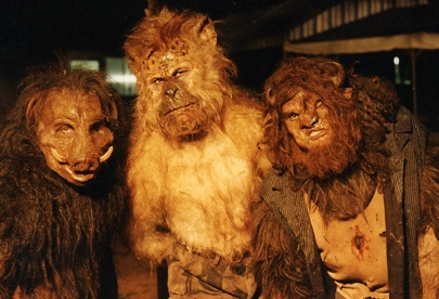 island of dr moreau monsters