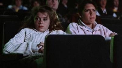 anguish girls at theater