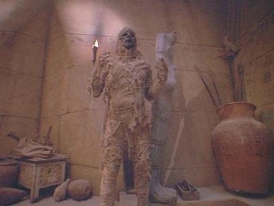 waxwork mummy