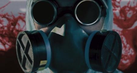 live evil gas mask hallucination