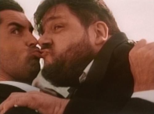 killer tongue cop kiss
